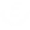 Emissary Fine Linens logo crest white