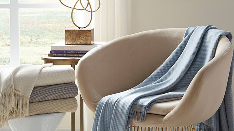 SFERRA throws & blankets online and Washington DC Maryland Virginia authorized dealer
