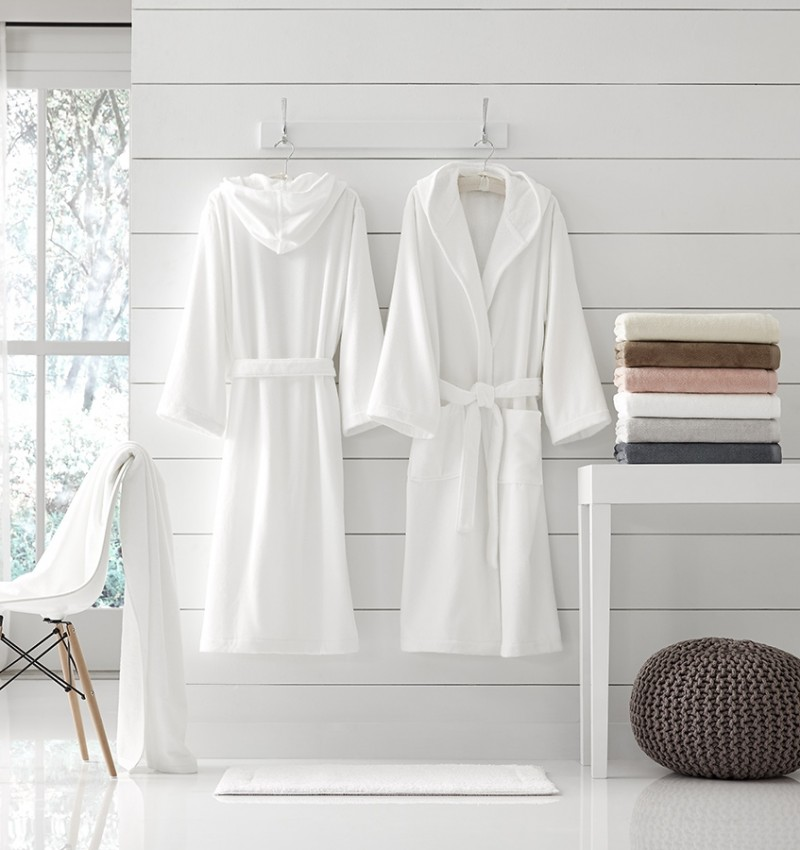 SFERRA Bath Canedo Bathrobe
